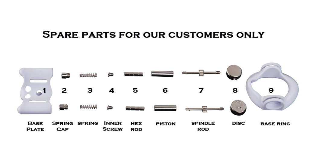 ProExtender Spare Parts