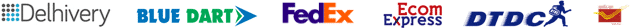 courier logistic partner logos